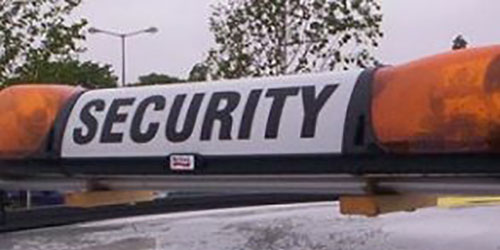 Mobile security patrol services